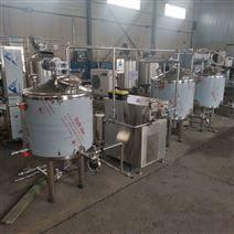 锡林浩特酸马奶低温杀菌罐 生产线设备