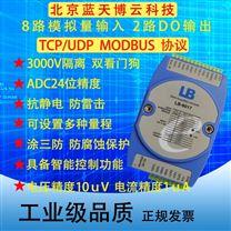 模拟量数据采集差分输入电压电流4-20mA
