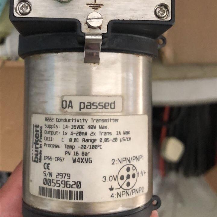 德国宝帝8222电导率变送器burkert-559620