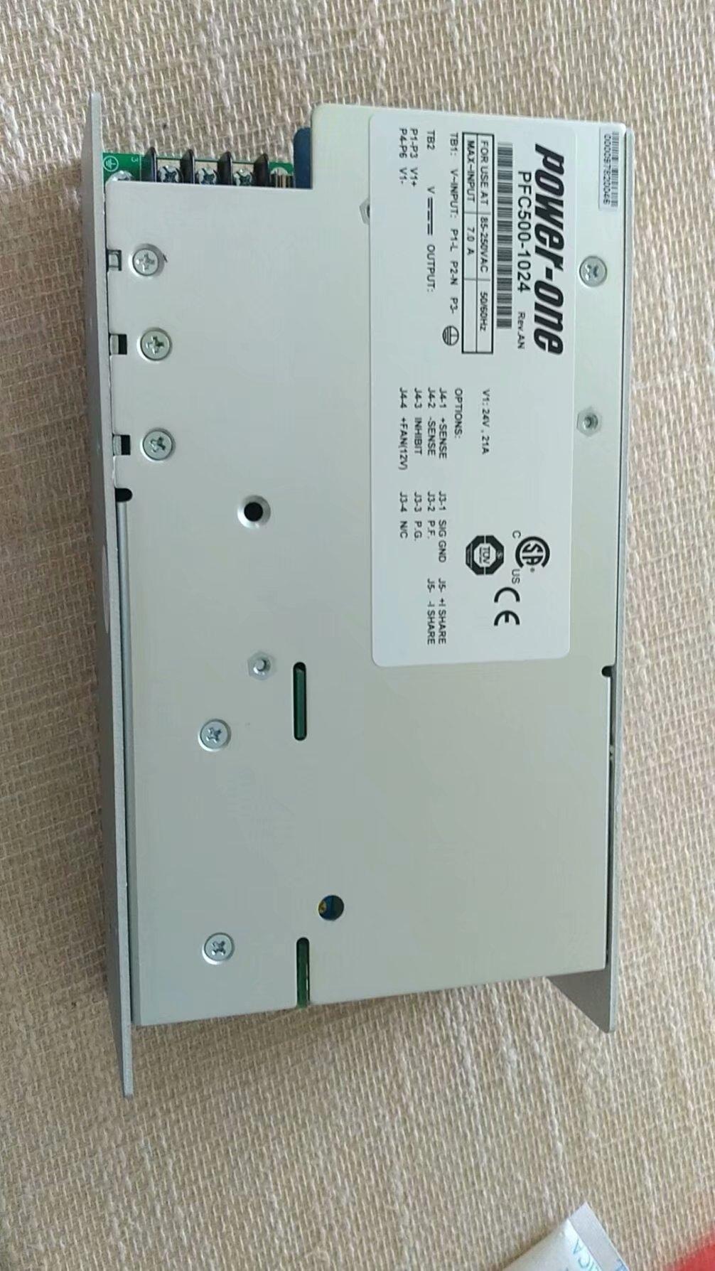 POWER-ONE可并联或冗余电源PFC500-1024G