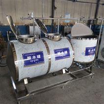 液态酸奶低温巴氏杀菌机 鲜奶生产流水线