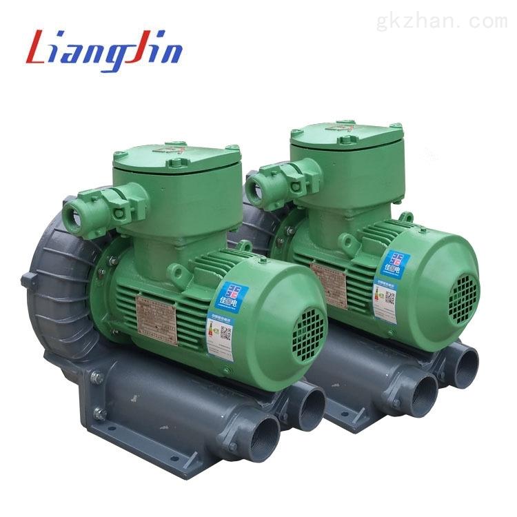 防爆高压鼓风机-漩涡高压气泵-防爆变频工业漩涡气泵