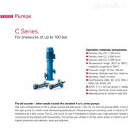 希而科底价销售Kral螺杆泵CL系列