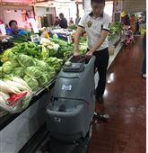 菜市场洗地机农贸市场手推自动洗地拖地机