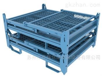 上海定制折叠金属网箱 折叠周转网箱
