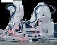 国锐自动化|国锐科技 双机器人协作焊锡机