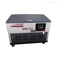 水冷4缸机阪腾动力颜达20KW静音汽油发电机YD25000W