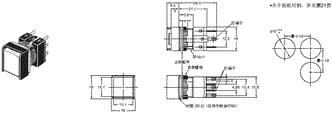 A16 外形尺寸 3 A16[]-A_Dim
