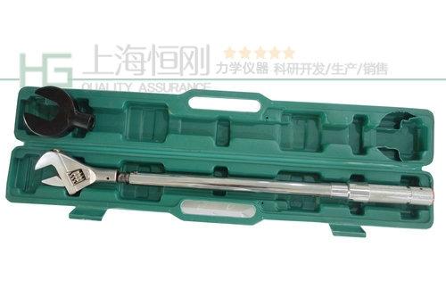 预置式扭力扳手手动工具图片(可配活动开口头)