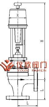 电动高压角型调节阀