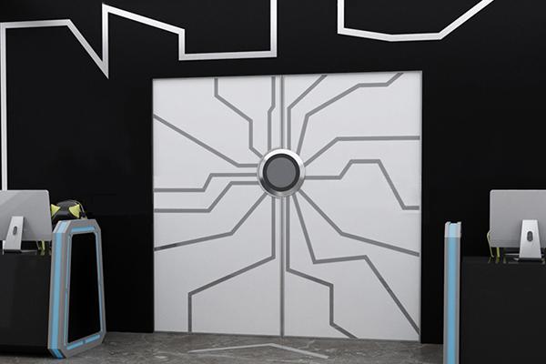 掌紋識別科技門