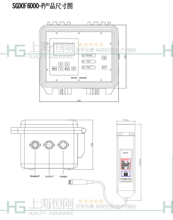 便携式管道流量检测仪