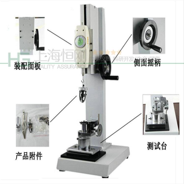 钮扣脱离力测试仪图片  可配置SGNK表盘推拉力计
