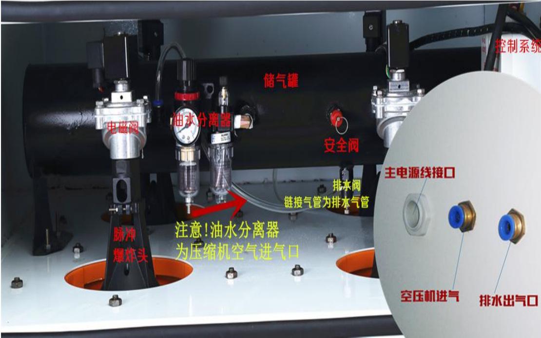 磨床吸尘器 平面工具磨床吸尘器 高压大吸力磨床吸尘器包邮示例图39