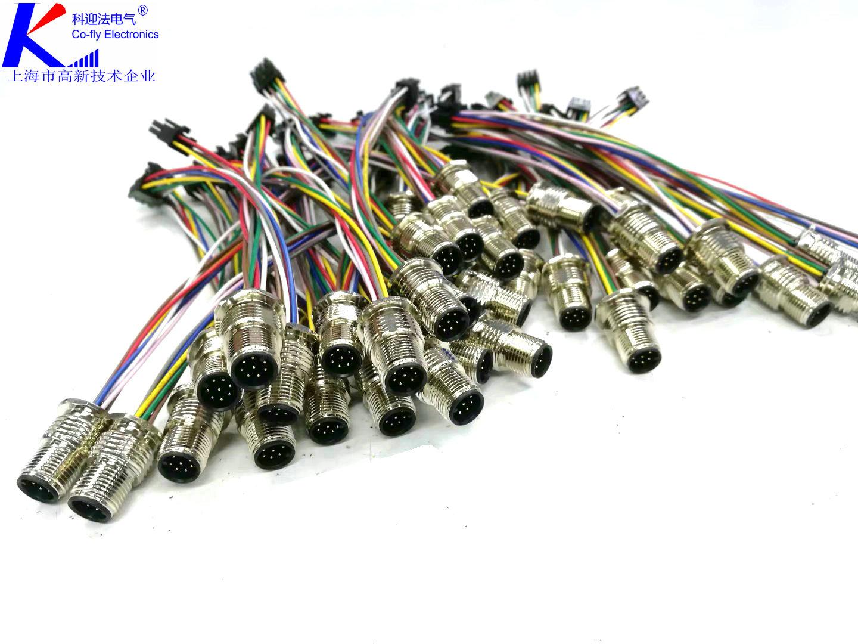 <strong><strong><strong><strong>4针4孔M8法兰插座</strong></strong></strong></strong>为当前工厂自动化领域最常用的连接器之一,其主要为工厂自动化8MM连接口径的传感器而开发设计,广泛应用于工厂自动化传感器、包装与传送系统、户外LED模块、安全光栅光幕、新能源信号控制等应用领域。