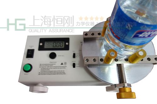 瓶装水瓶盖扭力测定仪