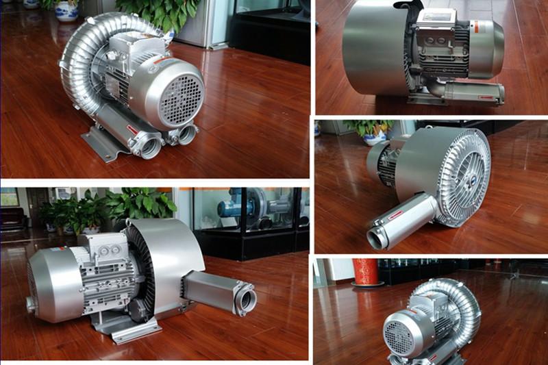 污水处理专用双段 双级高压风机 曝气用风机 化工废水曝气漩涡气泵示例图3