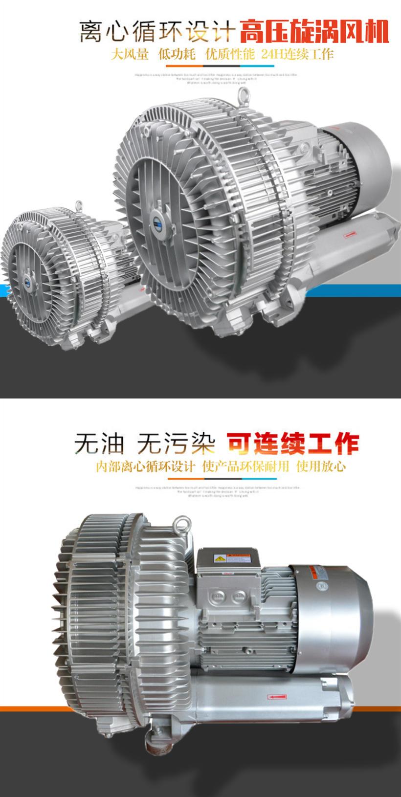 优质高压风机 真空泵 高压风机 长宁单段高压风机示例图2