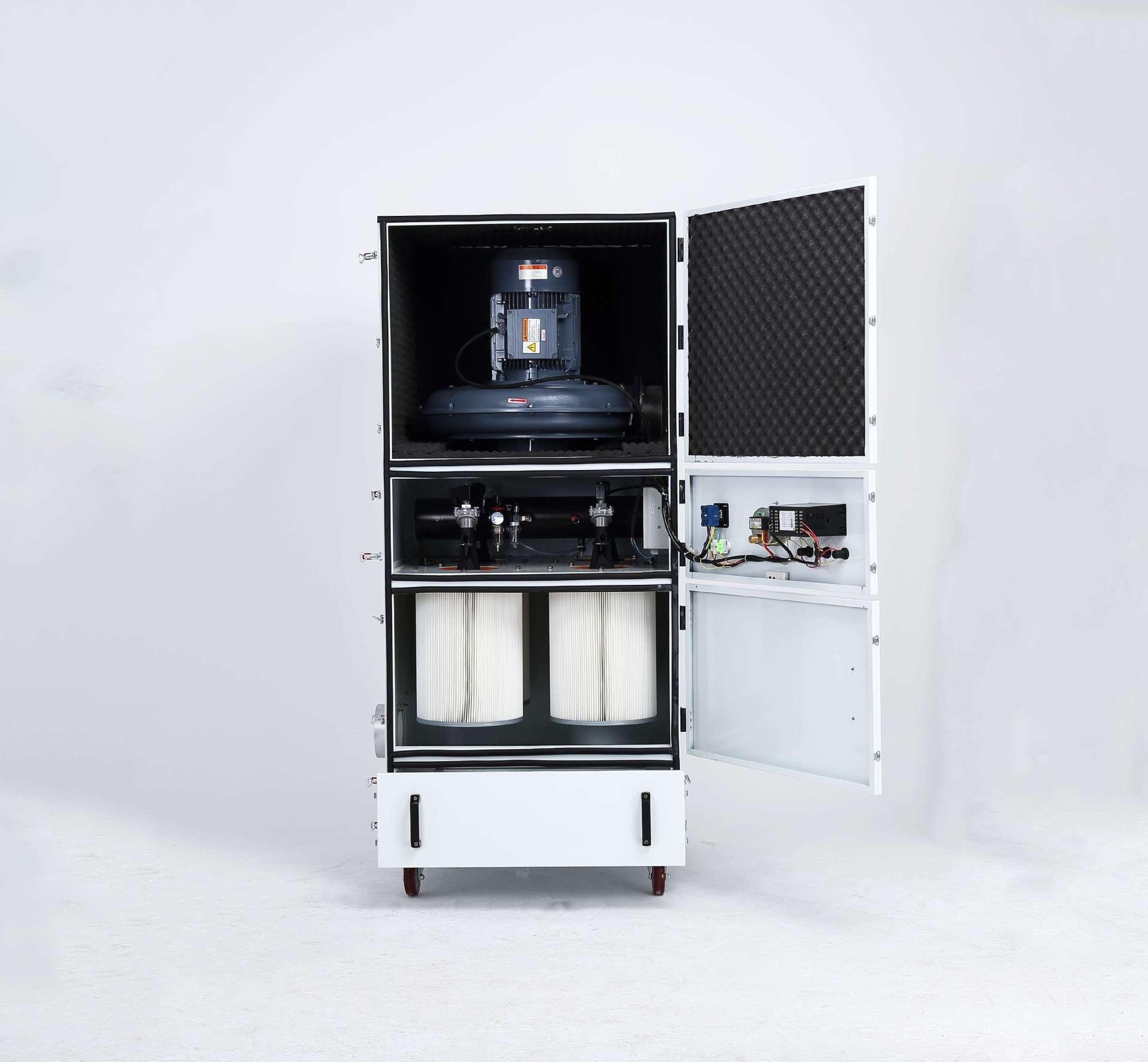 脉冲吸尘器,移动柜式磨床脉冲吸尘器,生产厂家示例图3