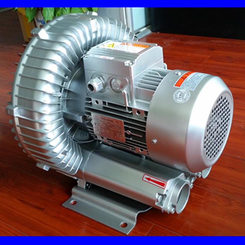 YX-23D-1漩涡高压风泵 功率250W 风量105m3/h 风压24KPa 旋涡高压气泵示例图2