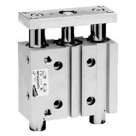 QCT 系列导杆气缸安装尺寸