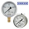 YBFN-60、YBFN-100 不锈钢耐震压力表/充油耐震-价格OEM-