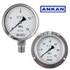 上海/杭州/YBFN-150 不锈钢耐震压力表/充油耐震/